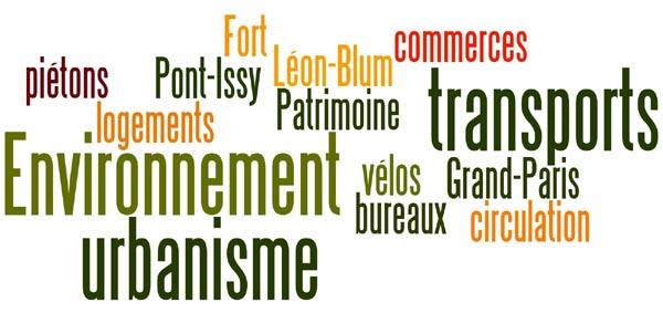 Table-ronde sur l'urbanisme, les transports et l'environnement à Issy dans informations generales table-ronde_actevi._mars2020